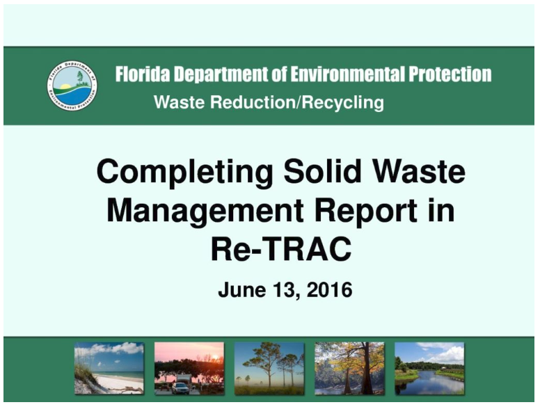 KESSLER CONSULTING, INC. - Recycle Florida Today
