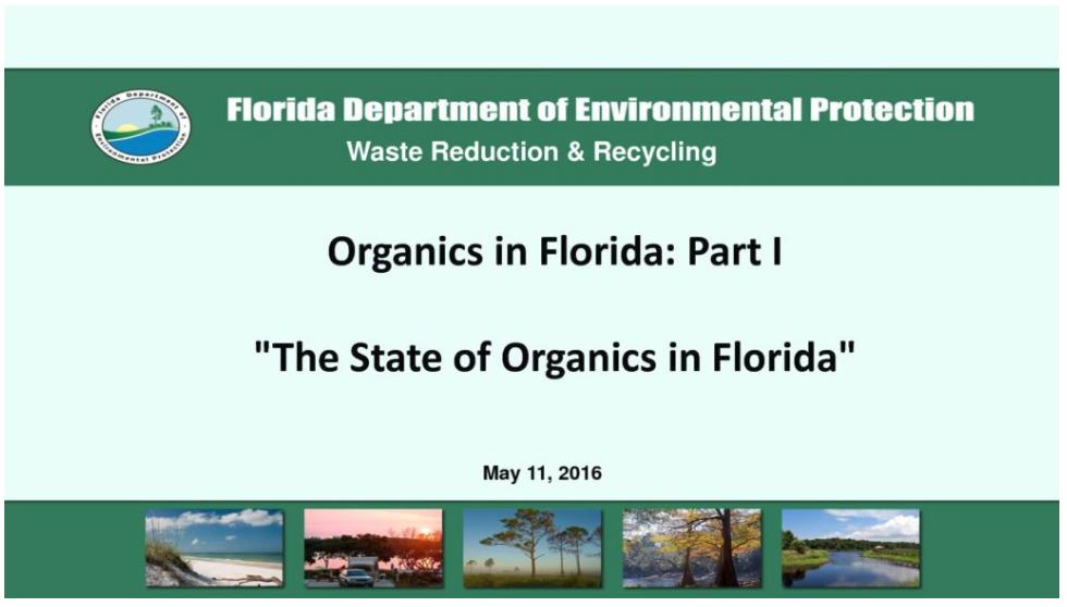 FDEP - Recycle Florida Today
