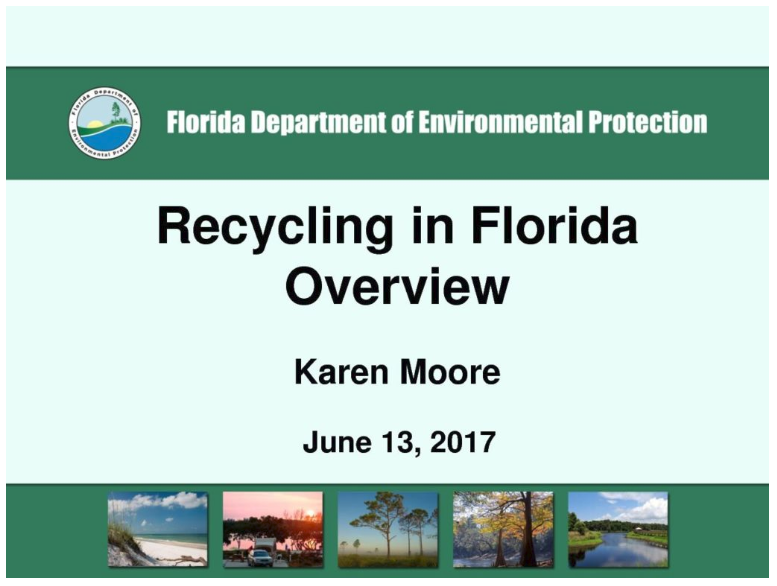FORCE - RECYCLE FLORIDA TODAY