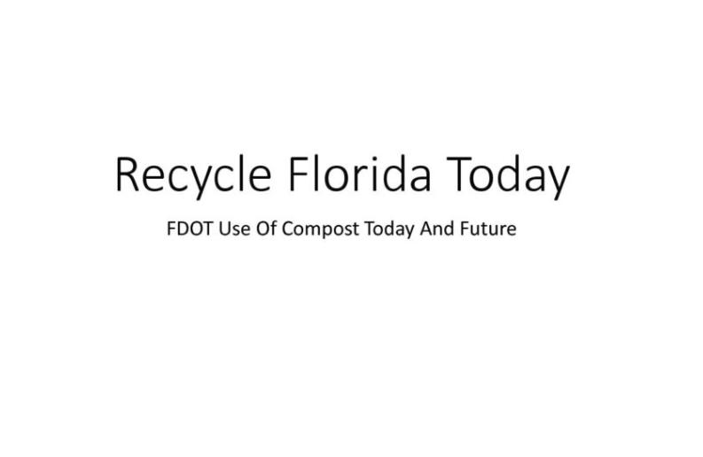 FDOT - Recycle Florida Today